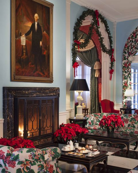 best winter vacations christmas at the greenbrier veranda