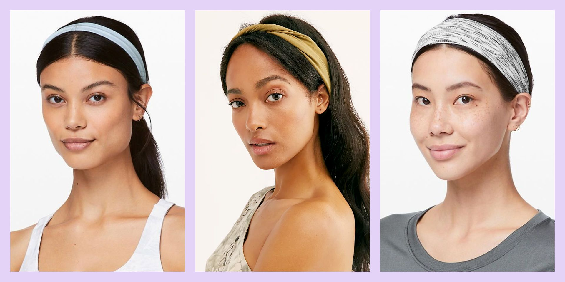 10 Best Workout Headbands That Will Stay Put No Matter How Hard You Sweat