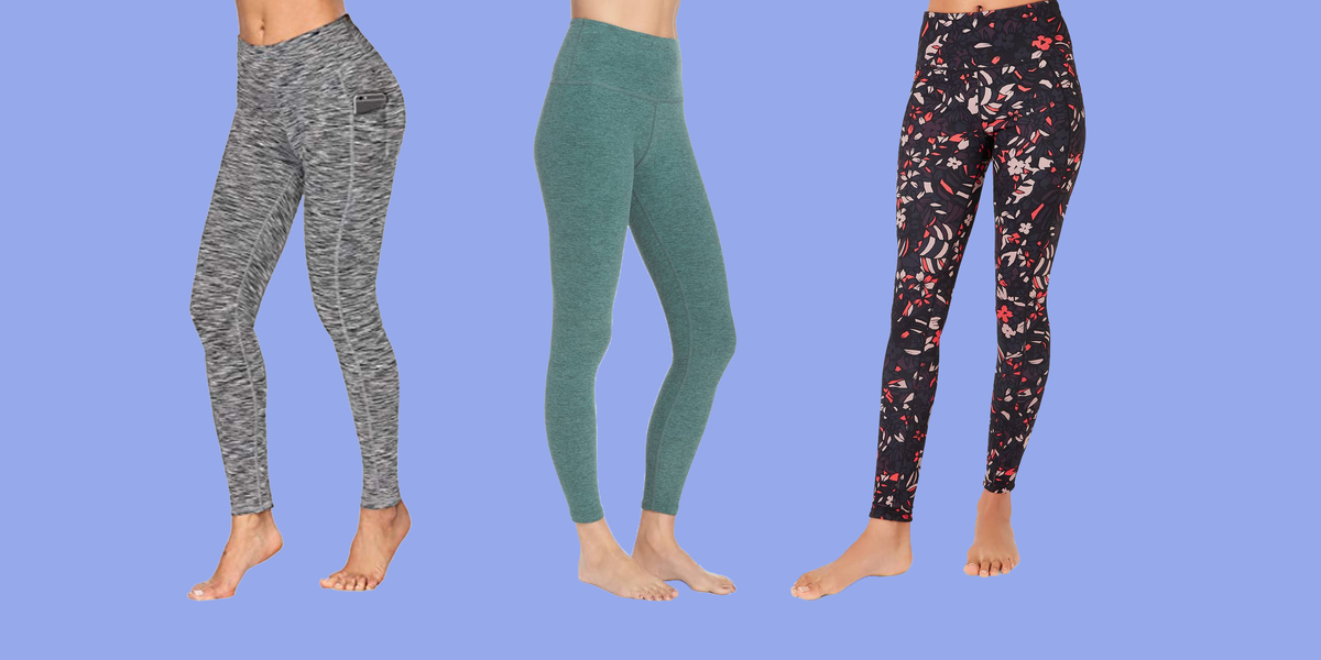 These Yoga Pants Are So Comfy, You'll Basically Want to Live In Them