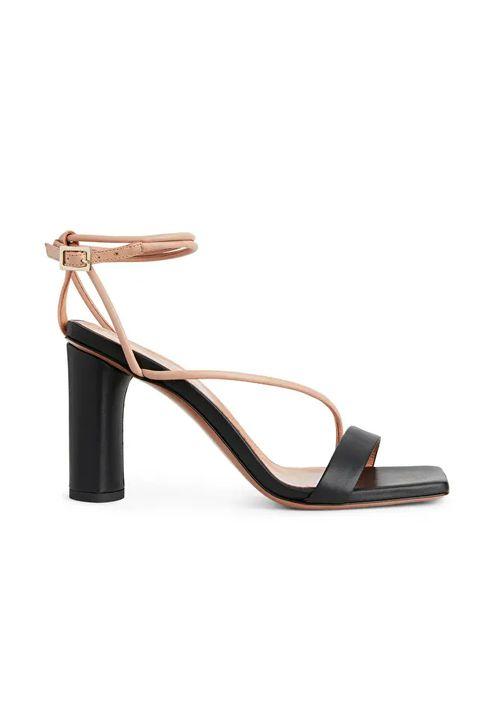 best block heel sandals - arket