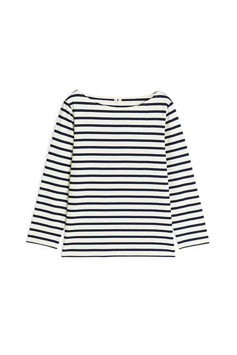 how to wear a breton top in the summer