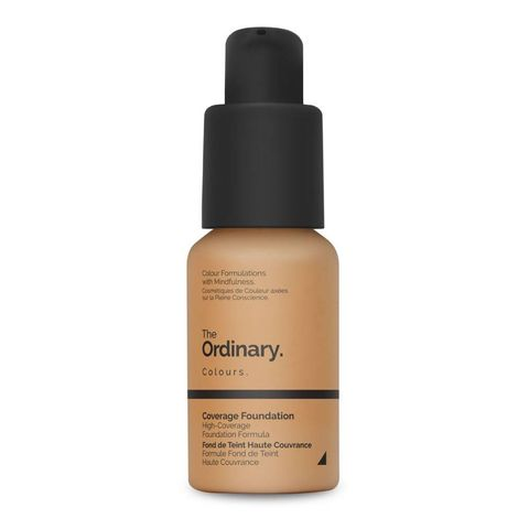beste foundations  the ordinary coverage foundation spf15
