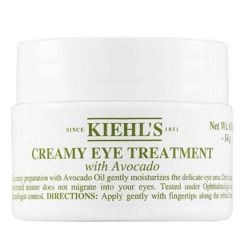 kiehl's oogcrème treatment met avocado voor de droge huid