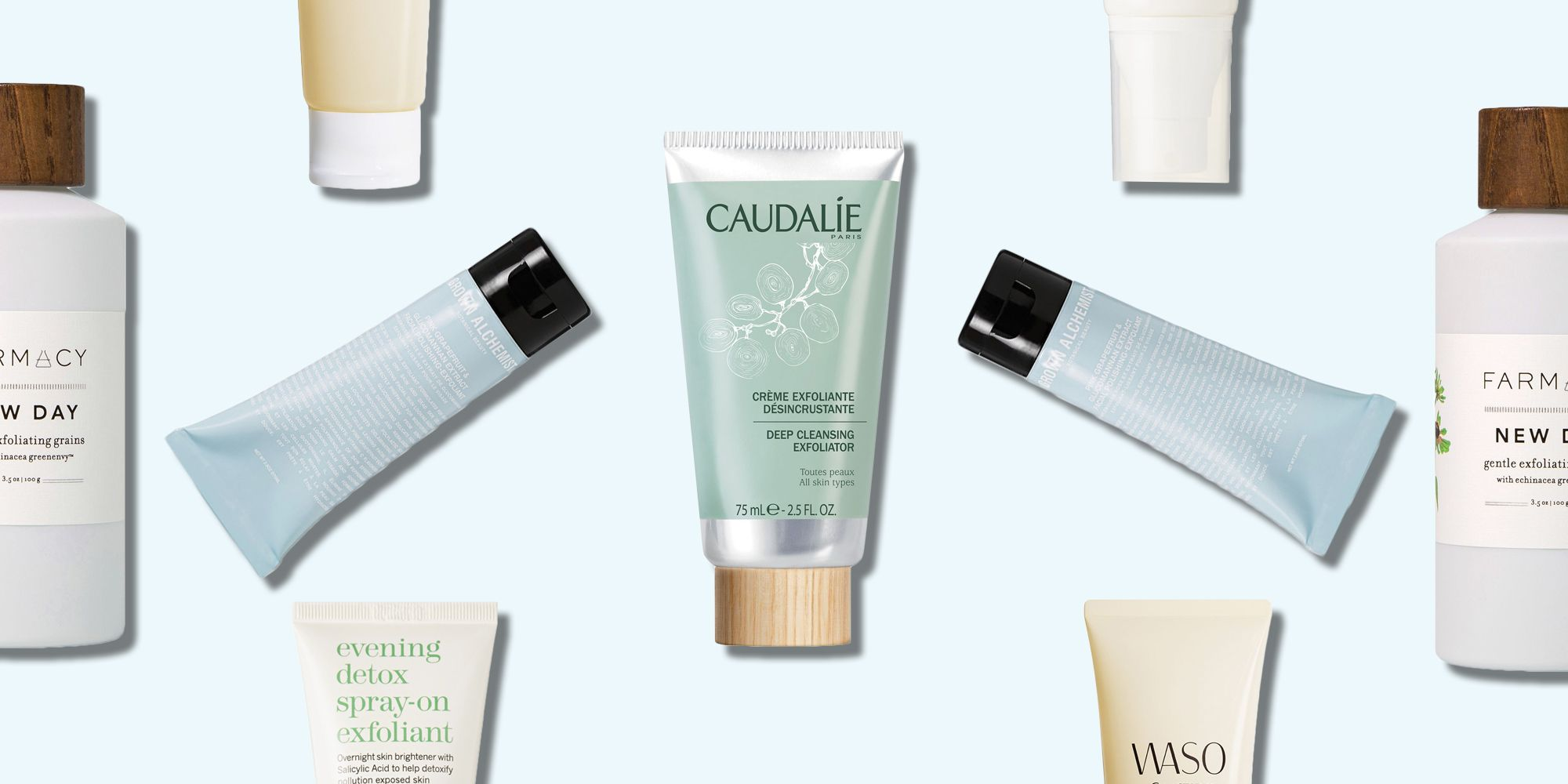 Best Face Exfoliators