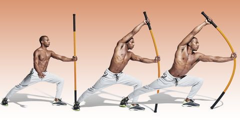 Arm, Physical fitness, Sports, Leg, Lunge, Muscle, Individual sports, Kung fu, Kung fu, Chest,