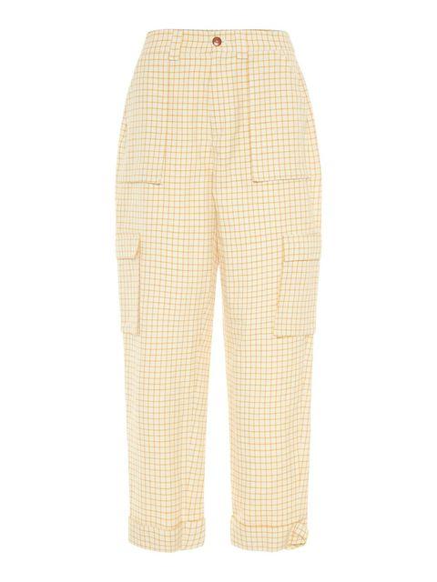 Clothing, Trousers, Khaki, Beige, Sportswear, Active pants, Pattern, sweatpant,