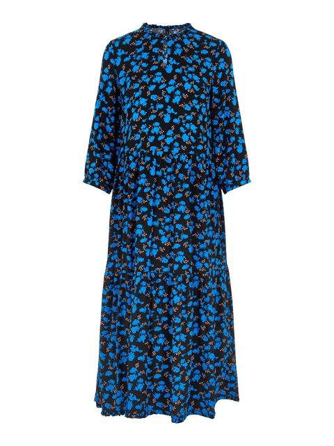 Clothing, Blue, Day dress, Cobalt blue, Dress, Electric blue, Turquoise, Sleeve, Aqua, Cover-up,