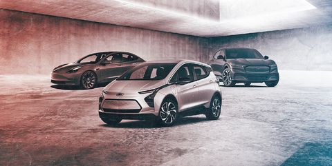 bestselling electric vehicles 2021
