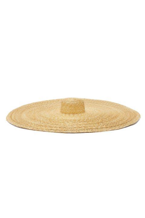 best summer hats -ELIURPILe Grand oversized natural straw hat