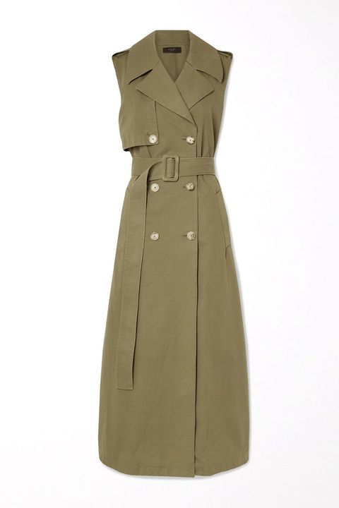 Best trench coat - trench dress