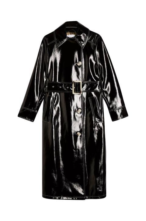 best trench coat - best vinyl trench coat