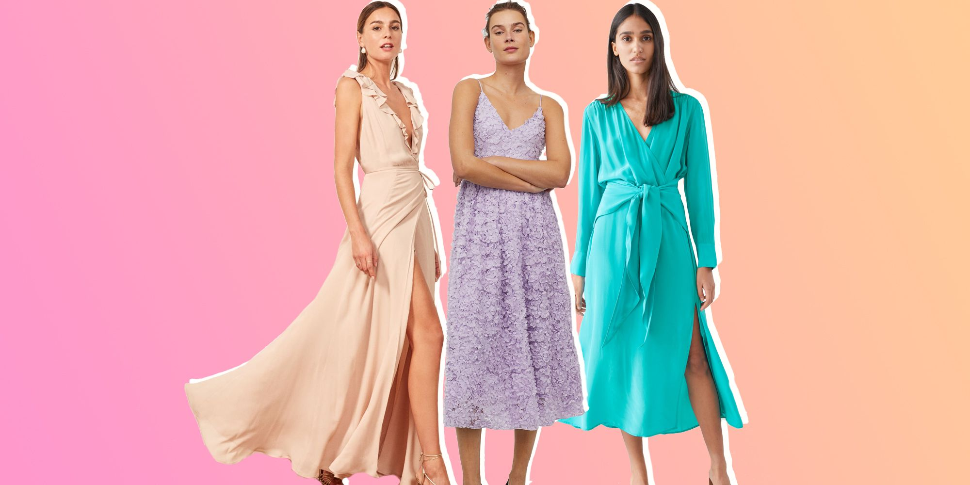 Wedding Guest Dresses 31 Best Wedding Guest Outfit Ideas