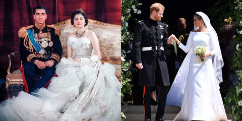The Best Royal Wedding Dresses Of Last 70 Years