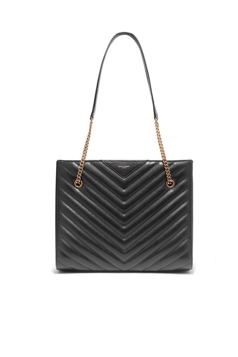work bags for women -Tribeca quilted leather tote, £1,450, Saint Laurent at Net-a-porter