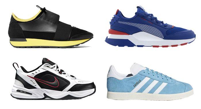 Mr Porter, Puma, Nike, adidas