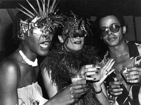 hardison with designer stephen burrows right at studio 54