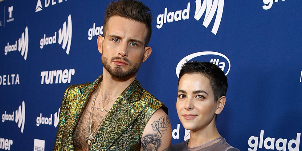 Bethany Meyers and Nico Tortorella GLAAD awards
