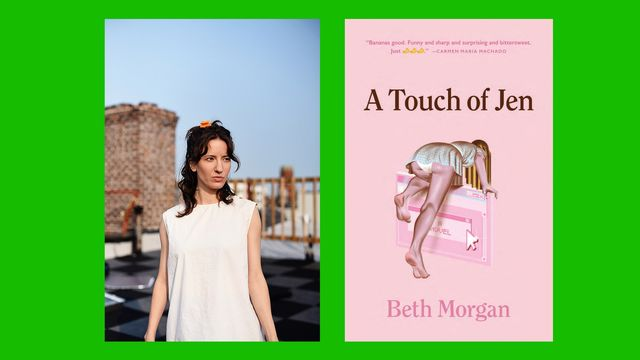 beth morgan, author of 'a touch of jen'