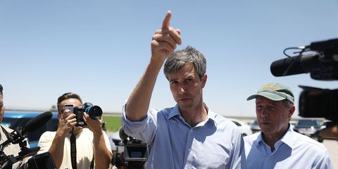 Beto O'Rourke Joins Protest Against Trump Zero Tolerance Immigration Policy