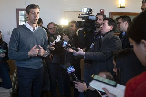 Beto O'Rourke Has One Setting: Loud and Earnest