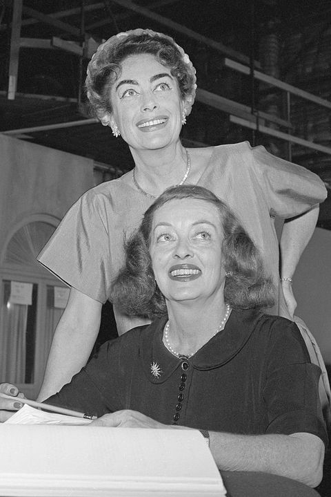 portrait of bette davis and joan crawford