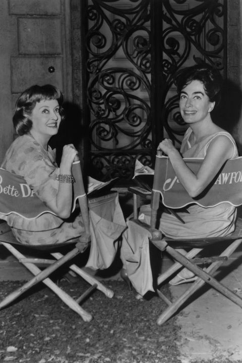 bette davis and joan crawford in 'what ever happened to baby jane'