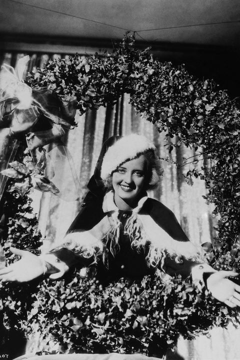 bette davis as santa claus, 1930's