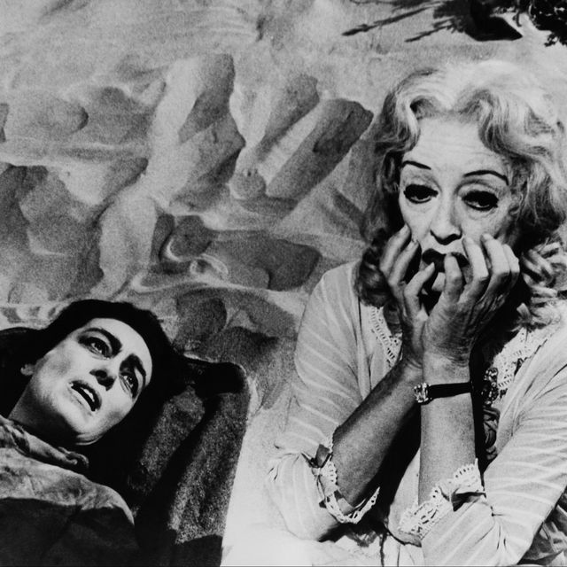 united states   january 01  joan crawford and bette davis in the movie whatever happened to baby jane 1962  photo by keystone francegamma keystone via getty images