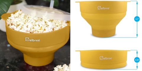 This Collapsible Popcorn-Maker Bowl Is a Movie-Night Must