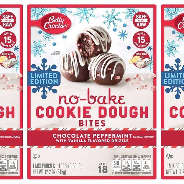 betty crocker no bake chocolate peppermint cookie dough bites