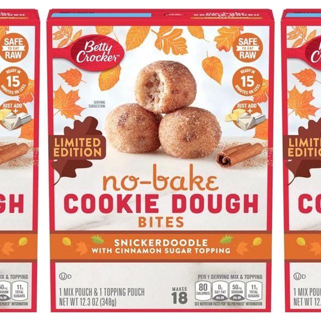 betty crocker snickerdoodle no bake cookie dough bites