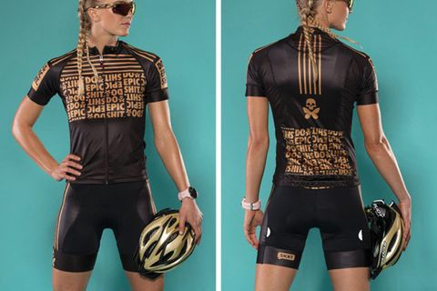 Betty Designs Do Epic Shit Cycle Jersey and Bib Short 46a6d1f17