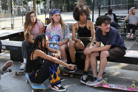 reparto de betty, la serie de skaters de hbo