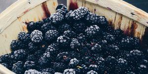 bevroren fruit bramen