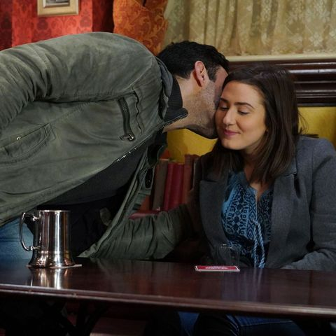 Bex and Kush in EastEnders
