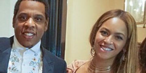 Beyonce and Jay Z attend a wedding