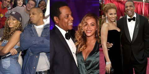 59a0d7ed21b 50 Photos That Prove Beyoncé and Jay-Z s Love Has Always Looked This Damn  Good