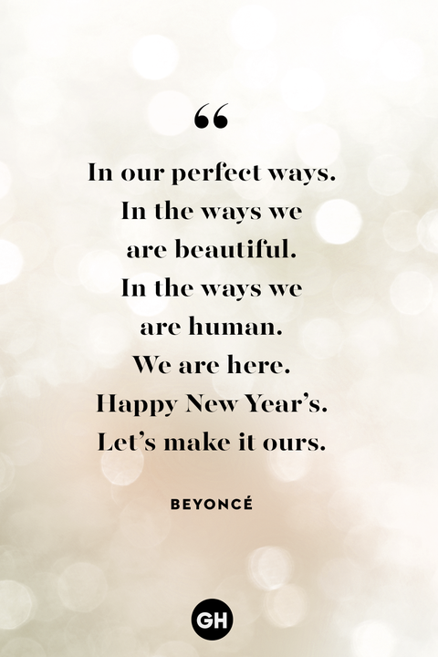 new years eve quotes — beyonce