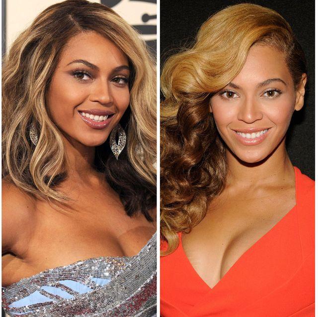 beyoncé's hair transformation over time