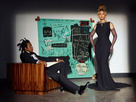 beyoncé and jay z for the tiffany  co fall 2021 about love campaign, shot by mason poole