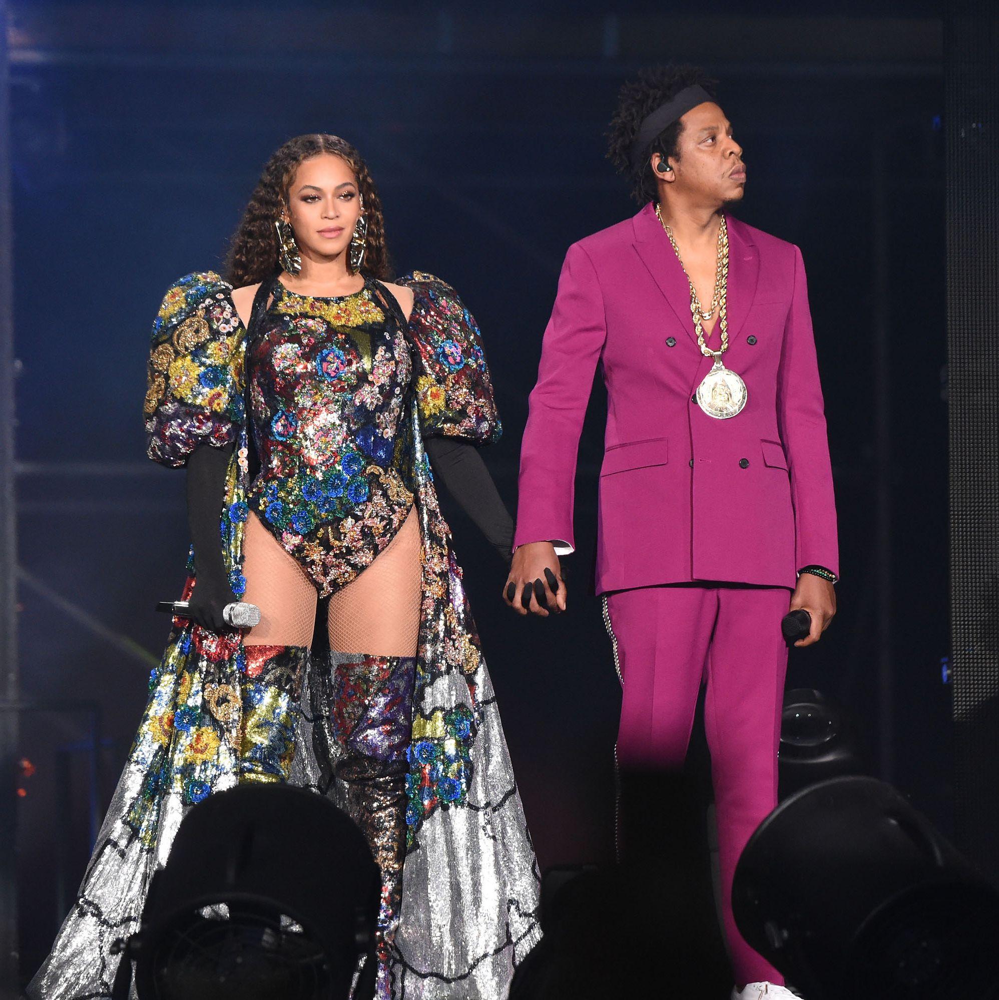 How Beyonce's Global Citizen Outfits Celebrated the Diversity of Africa