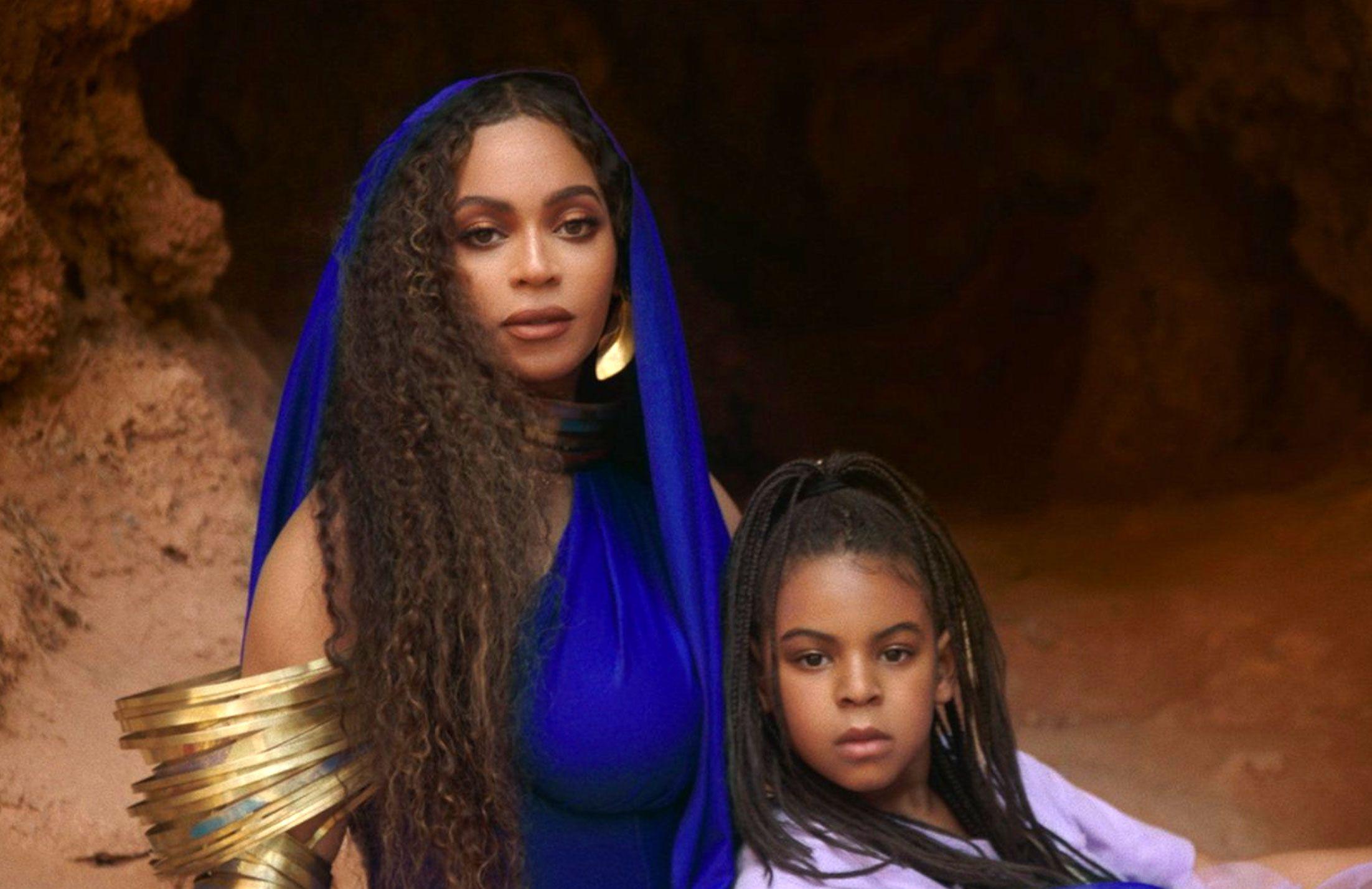 Strange Beyonces Daughter Blue Ivy Carter Makes Billboard Top 100 Debut Funny Birthday Cards Online Kookostrdamsfinfo