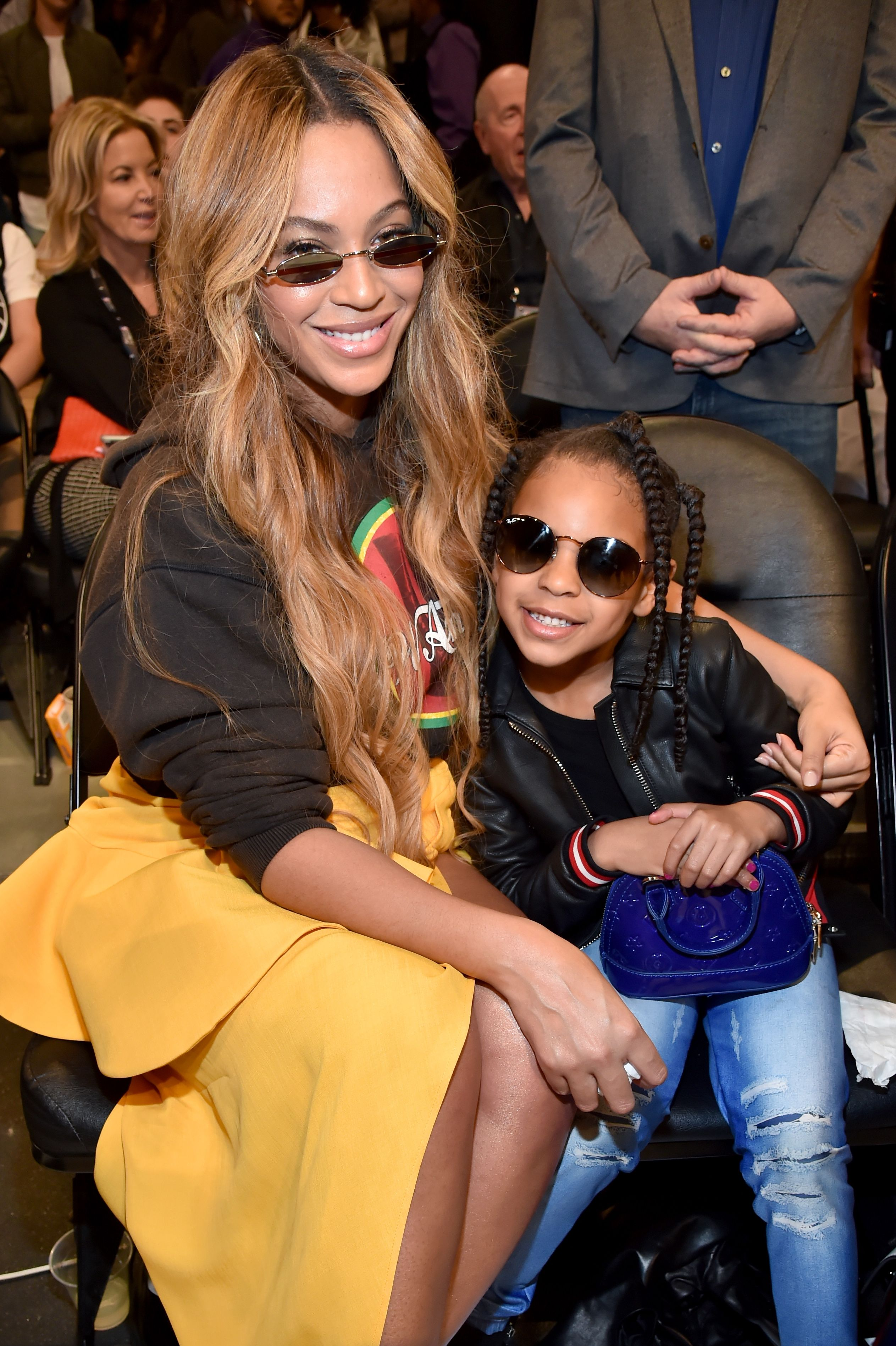 beyonce knowles and blue ivy
