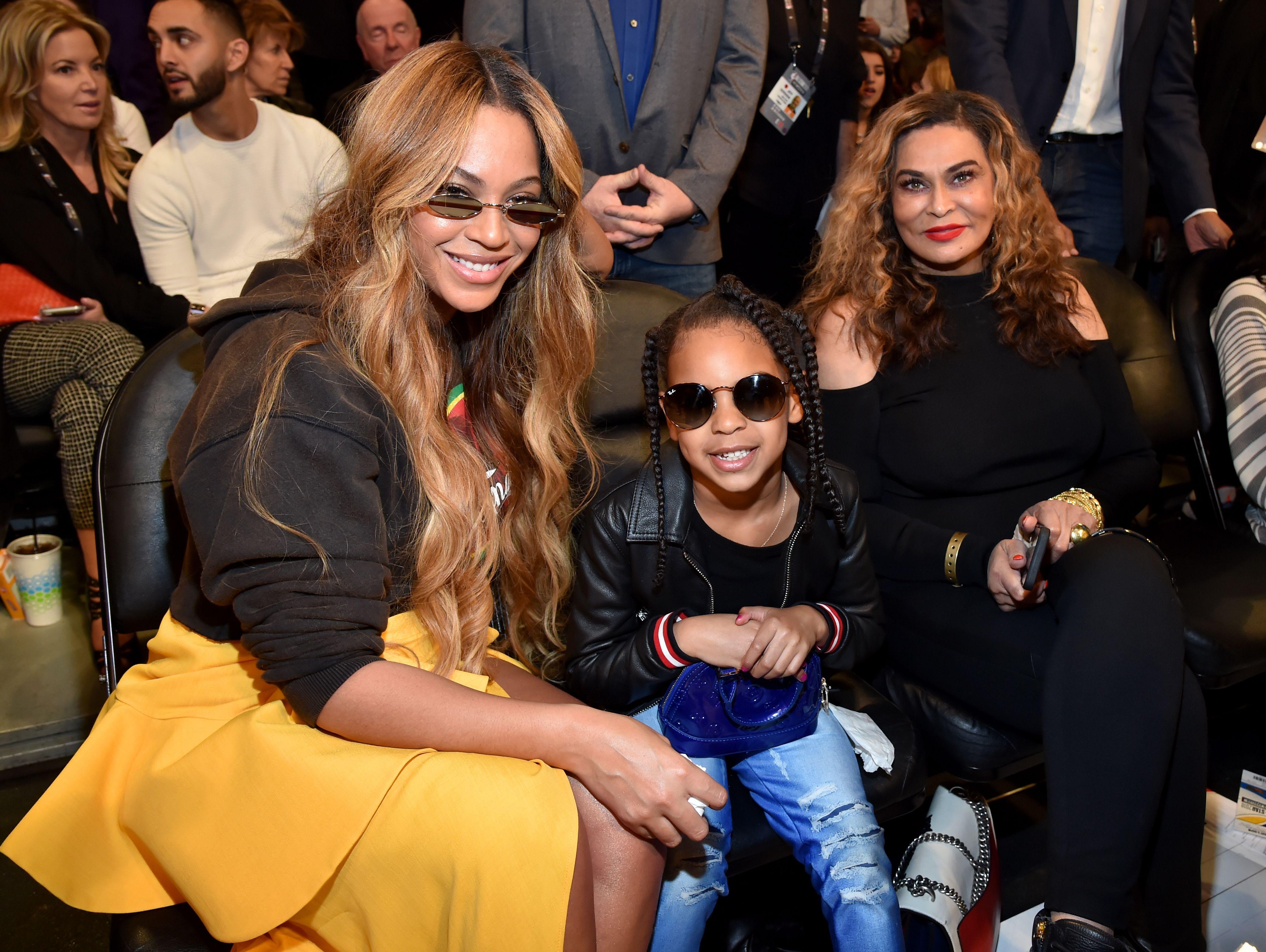 Tina Knowles Posts Beyonce Jay Z Wedding Photo On Instagram