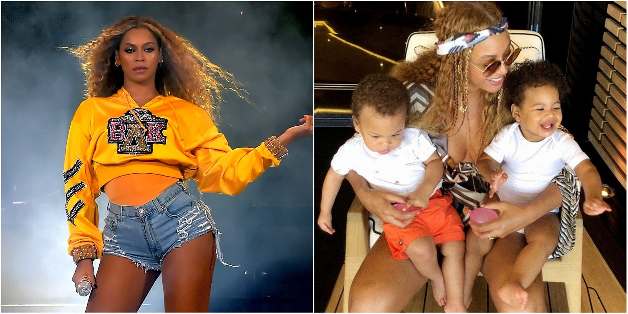 Beyoncé's Twins Look Adorable Laughing In Behind-The-Scenes Video Of Photoshoot