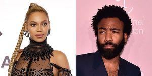 Beyoncé en Donald Glover