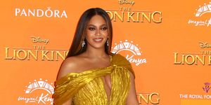 Beyoncé en la 'premiere' de 'El Rey León'