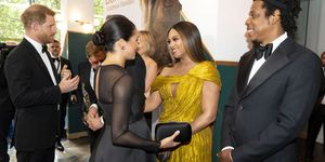 Beyonce en Meghan Markle