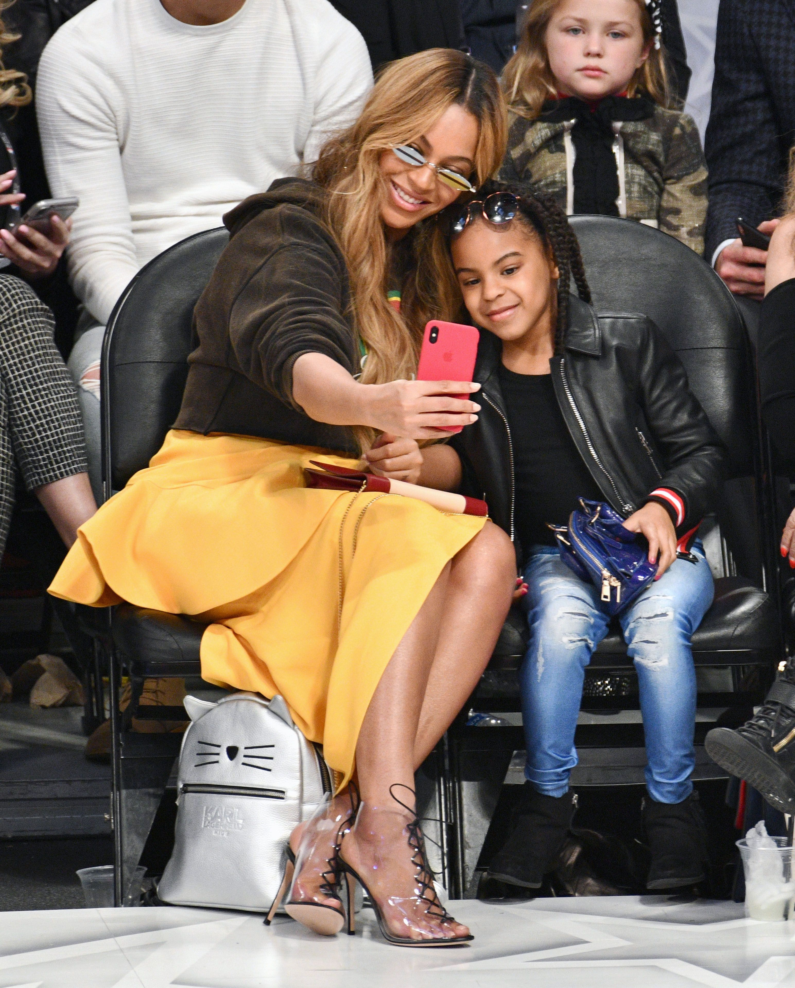 Beyoncé Shared Photos From Blue Ivy's Rose Gold-Themed 7th Birthday Party