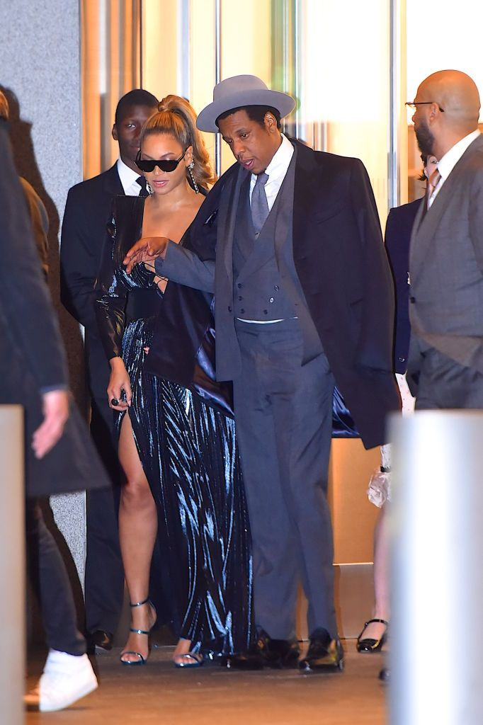 bb4966631fa57 Were Beyoncé s Grammys outfits hints that she s working on Black Panther
